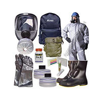 Kits d'urgence et protection NRBC complets